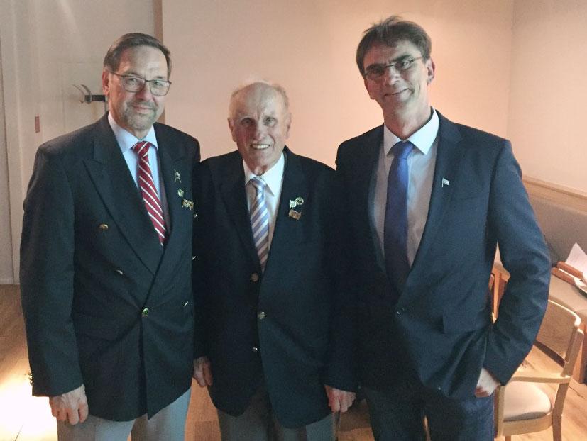 Werner Tscheschlog, Alwill Brouwers, Thomas Kühl